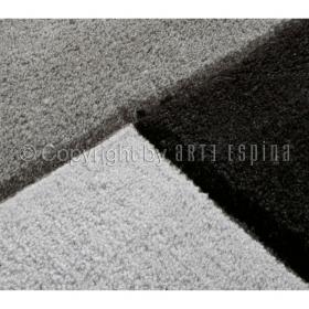 tapis gris foncé arte espina moderne reflective
