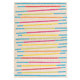 tapis arte espina rio couleur crème tufté main