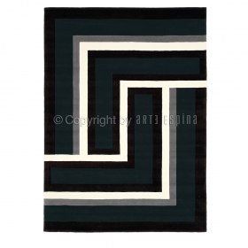 tapis anthracite arte espina tweed