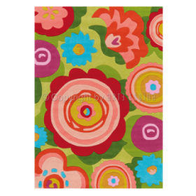 tapis bloom multicolore arte espina