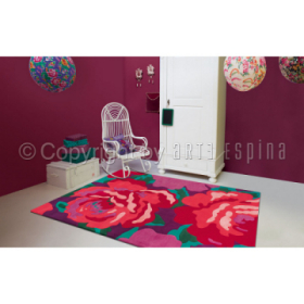 tapis bloom rose arte espina
