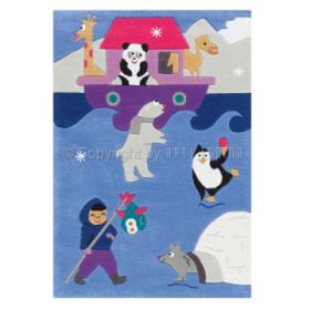 tapis enfant kids esquimau arte espina