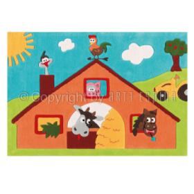 tapis enfant kids ferme arte espina