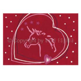 tapis glowy coeur arte espina