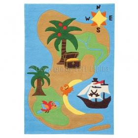 tapis enfant iles des pirates arte espina