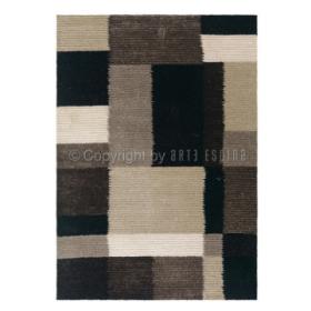 tapis arte espina shaggy jazz anthracite