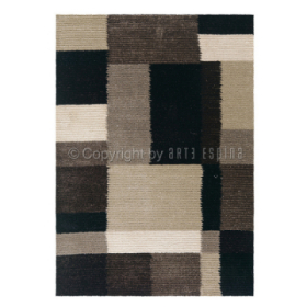 tapis shaggy jazz anthracite arte espina