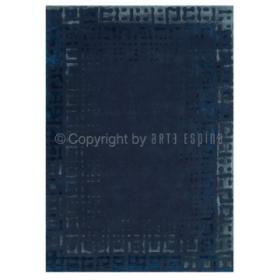 tapis boleros bleu arte espina tufté main
