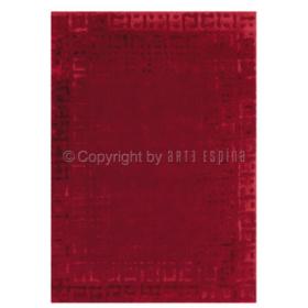 tapis arte espina boleros rouge tufté main