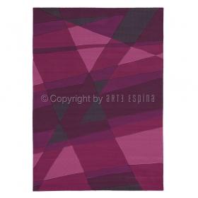 tapis arte espina violet luminous