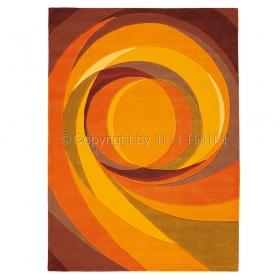 tapis orange set highlights arte espina