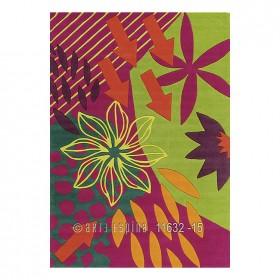 tapis moderne rose tobago arte espina