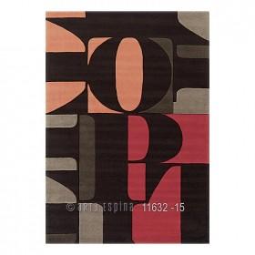 tapis rouge lexis arte espina tufté main