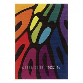tapis colour festival multicolore arte espina