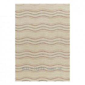 tapis arte espina linear tufté main couleur crème