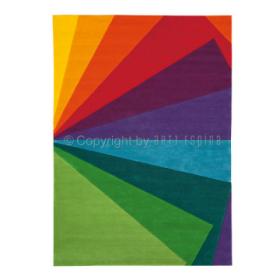 tapis colour festival graphique arc en ciel arte espina