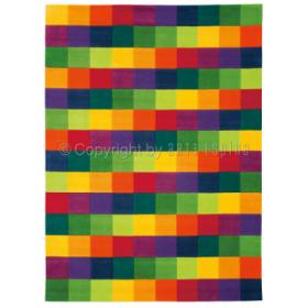 tapis colour festival graphique multicolore arte espina