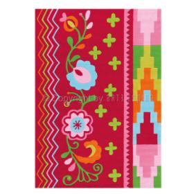 tapis datcha rouge arte espina tufté main