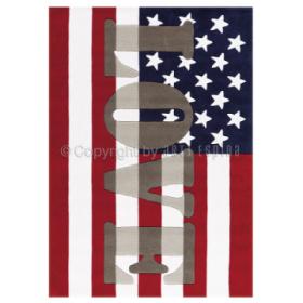 tapis word up drapeau usa arte espina