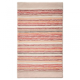 tapis de bain esprit home cool stripes beige