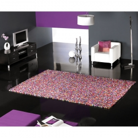 tapis multicolore balls carving