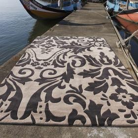 tapis mistik gris carving