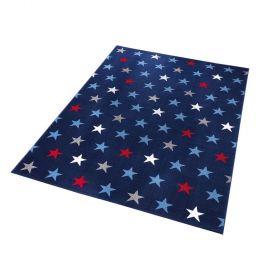 tapis moderne starry sky wecon bleu