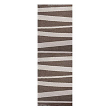 tapis de couloir are beige et brun sofie sjostrom design