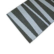 tapis de couloir sofie sjostrom design are gris et noir