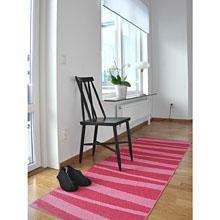 tapis de couloir are zébré rose sofie sjostrom design