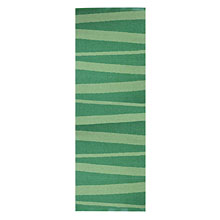 tapis de couloir vert sofie sjostrom design are zébré