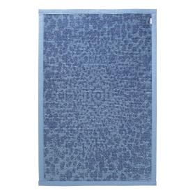 tapis de bain bleu caldera esprit home