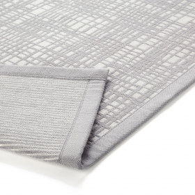 tapis de bain gris graficule esprit home