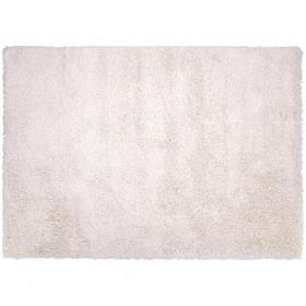 tapis shaggy couleur crème california