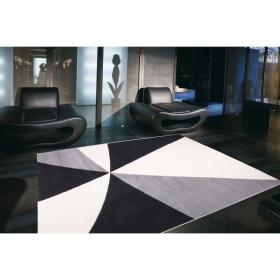 tapis citizen noir et blanc