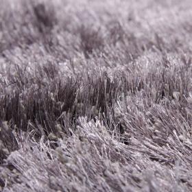 tapis longues mèches lea gris