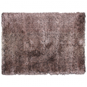 tapis longues mèches lea marron
