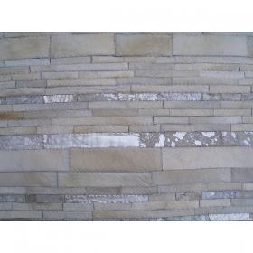tapis moderne en cuir loft blanc