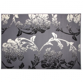 tapis new baroque gris
