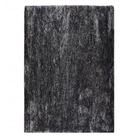 tapis shaggy tufté main wild anthracite