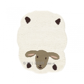 tapis enfant kids mouton blanc arte espina