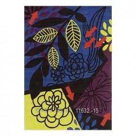 tapis moderne bleu tobago arte espina