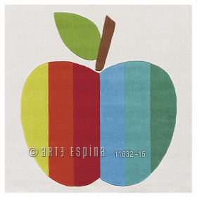 tapis enfant kids pomme arte espina