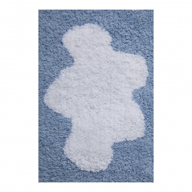 tapis enfant cenefa nubes bleu lorena canals