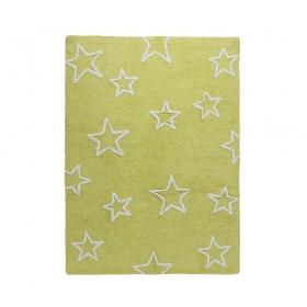 tapis enfant estrellas vert lorena canals