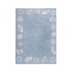 tapis enfant granja bleu lorena canals