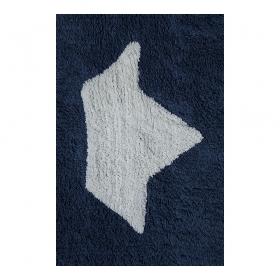 tapis enfant barquitos bleu marine lorena canals