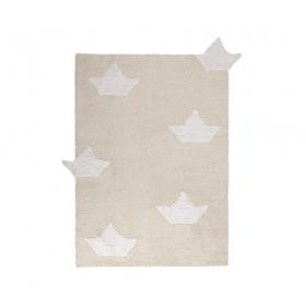 tapis enfant barquitos beige lorena canals