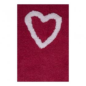 tapis enfant corazones rouge lorena canals