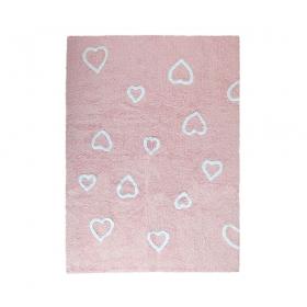 tapis enfant corazones rose lorena canals